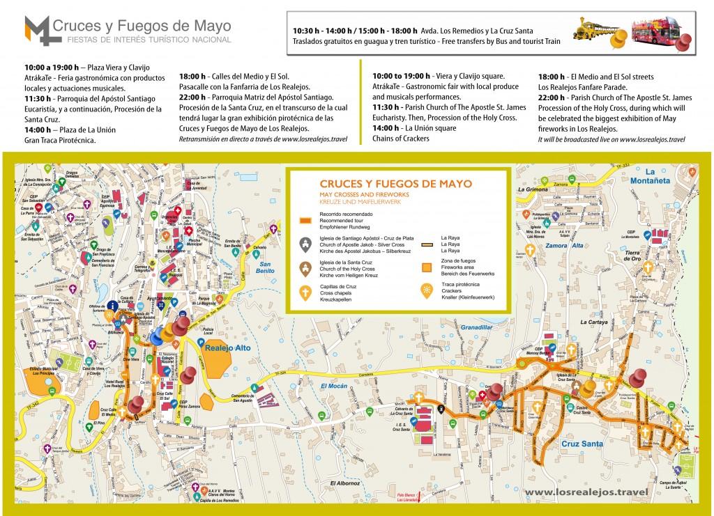 Mapa Cruces y Fuegos 2016