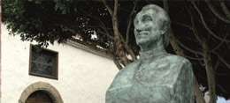 Büste von José Antonio Viera y Clavijo